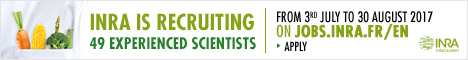 INRA is recruiting 49 scientists